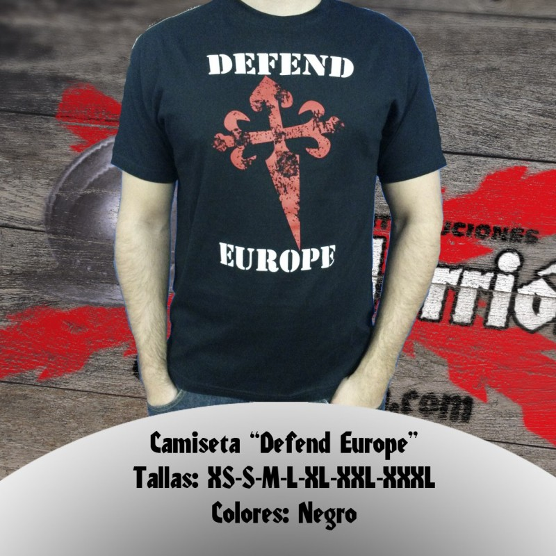 "Camiseta ""Defend Europe"""
